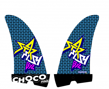 Choco Fins 2016 Freestyle/Wave Starfish B72 Carbon Innegra