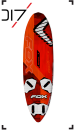 Severne Boards 2018 FOX 105  (NEU aus Deko)